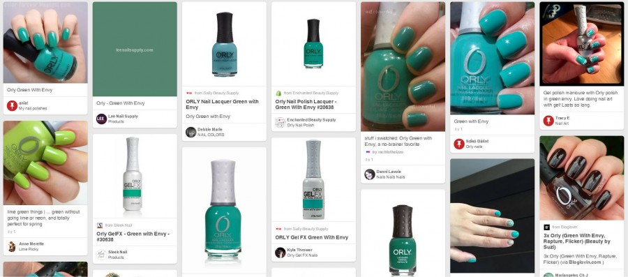 20638 Green With Envy PINTEREST