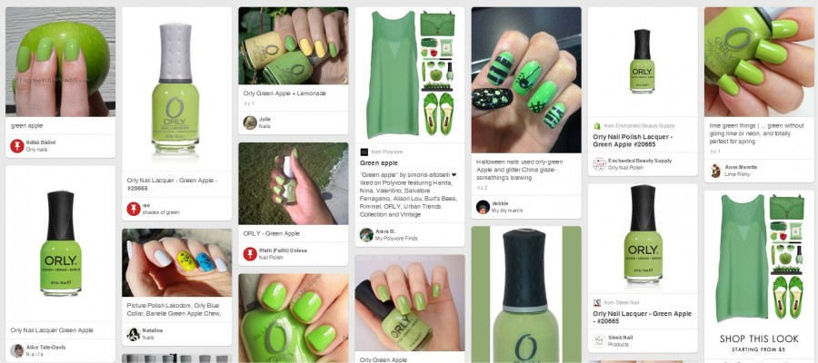 20665 GREEN APPLE OJA PINTEREST